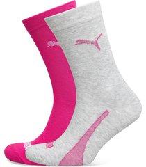 puma sock 2p unisex promo underwear socks regular socks rosa puma