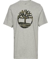 ss k-r camo tree t t-shirts short-sleeved grå timberland