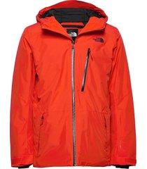 m descendit jkt outerwear sport jackets orange the north face