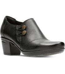 clarks collection women's emslie warren leather shooties women's shoes
