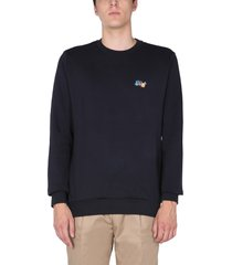 paul smith splatter print sweatshirt