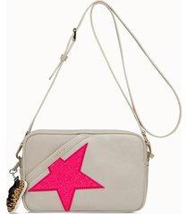 golden goose deluxe brand borsa star colore bianco burro