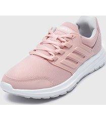 zapatilla deportiva galaxy 4 rosa adidas performance