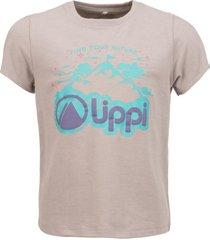 polera summit flag uvstop t-shirt melange gris lippi
