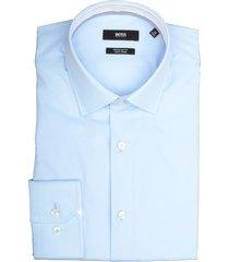 hugo boss overhemd goran lichtblauw 50415621/452