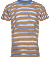 summer stripe troll t-shirts short-sleeved multi/mönstrad mads nørgaard