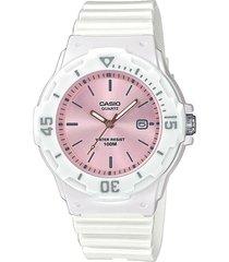 reloj casio deportivo dama lrw-200h-4e3 color blanco