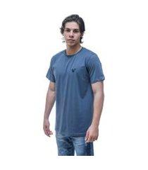 camiseta vitoriano classic - azul jumbo