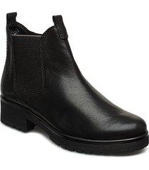 ankle boots stövletter chelsea boot svart gabor