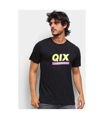 camiseta qix classic international masculina