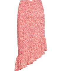 joy knälång kjol rosa six ames