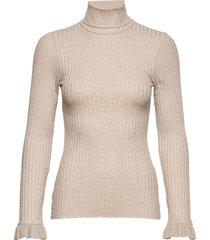 miss turtle l/s top turtleneck coltrui beige odd molly