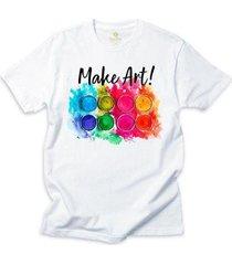 camiseta alternativa cool tees alma de artista - masculino