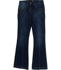 cotton stretch low waist jeans