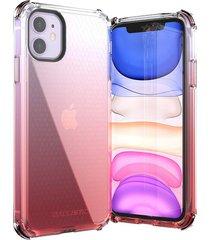 estuche protector ballistic jewel spark iphone 11 6.1 - rojo