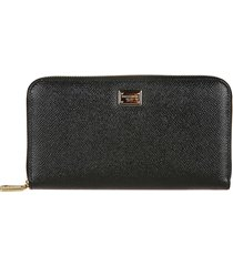dolce & gabbana dauphine zip-around wallet