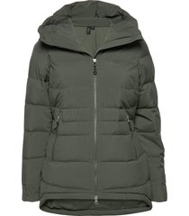 stranda down hybrid w jkt outerwear sport jackets grön bergans