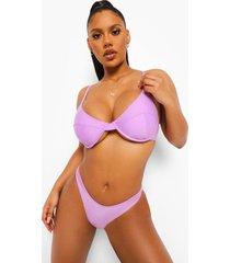 essentials bikini top met vollere cups, bright lilac