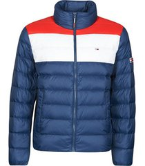 donsjas tommy jeans tjm colorblock light down jacket