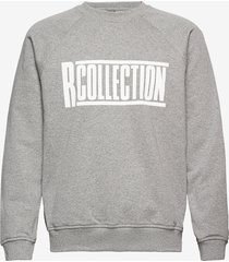 classic sweatshirt sweat-shirt trui grijs r-collection