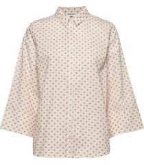bailey shirt overhemd met lange mouwen crème modström