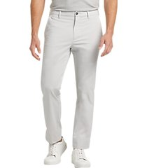 cole haan grand.øs light gray modern fit chinos