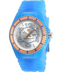 reloj technomarine tm-115146 azul silicona