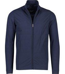 cavallaro mattarello zip jacket donkerblauw