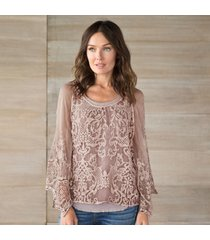 lace interlude top