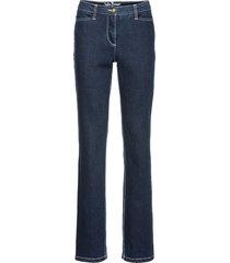 jeans elasticizzato modellante straight (blu) - john baner jeanswear