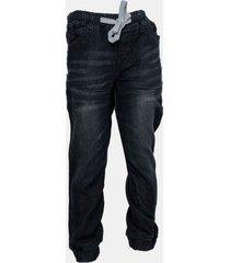 jeans soft denim jogger negro family shop