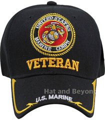 veteran marine u.s. military cap hat official