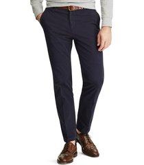 pantalon hombre stretch cotton azul polo