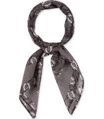 rebecca minkoff geo-print bandana scarf