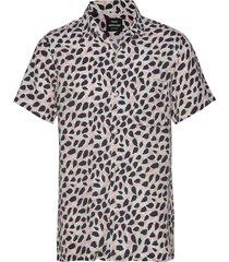 casagrand sonic overhemd met korte mouwen multi/patroon mads nørgaard