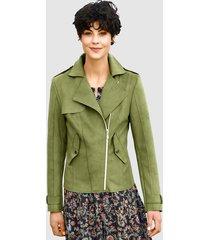 jas dress in groen