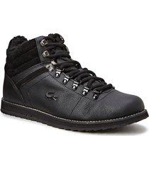jarmund put höga sneakers svart lacoste shoes