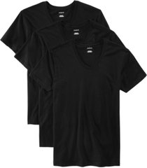 alfani men's 3-pk. cotton v-neck undershirts, created for macy's