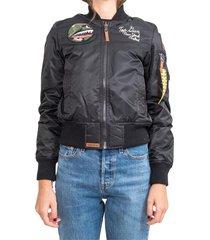 ladyluck w bomber jacket