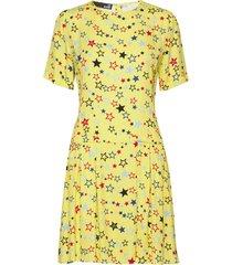 love moschino dress kort klänning gul love moschino