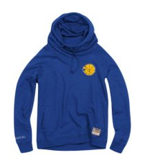 mitchell & ness women's golden state warriors funnel neck fleece hoodie
