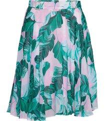 grace skirt knälång kjol grön guess jeans