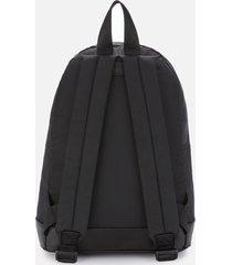 a.p.c. men's ultralight backpack - black