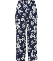 pantaloni con elastico in vita (blu) - bodyflirt