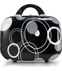 frasqueira contemporânea abs preto jacki design