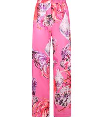 msgm printed trousers