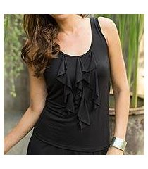 modal top, 'paradise in black' (indonesia)