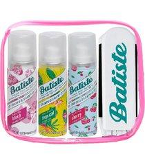 estuche shampoo seco blush, tropical, cherry 50ml batiste