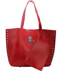 bolso rojo leblu