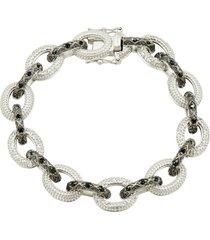women's freida rothman industrial chain link bracelet